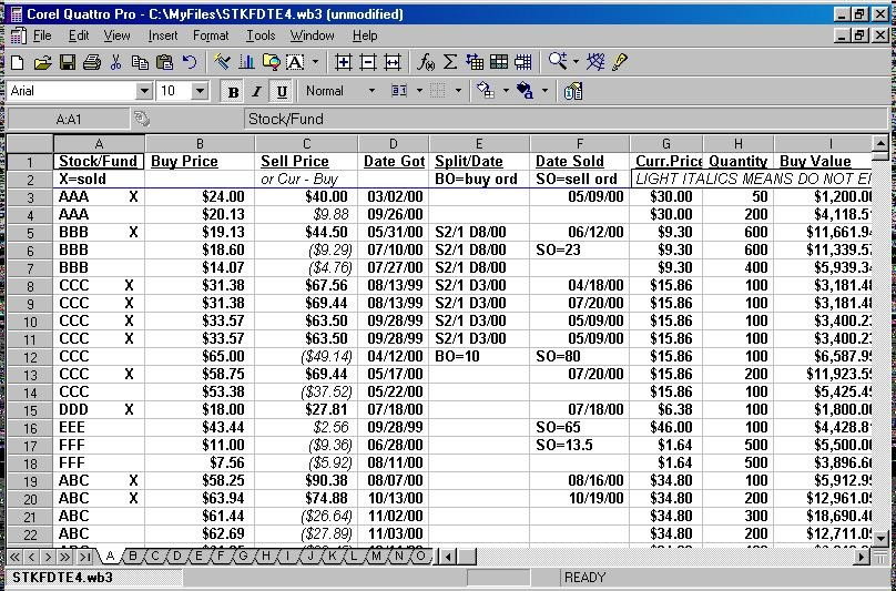 mutual fund portfolio tracker using excel download and tutorial