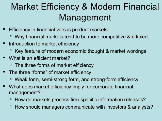 market efficiency theory essay Essay - how does efficient market theory apply to property markets do property market cycles support efficient market theory 4 pages essay.
