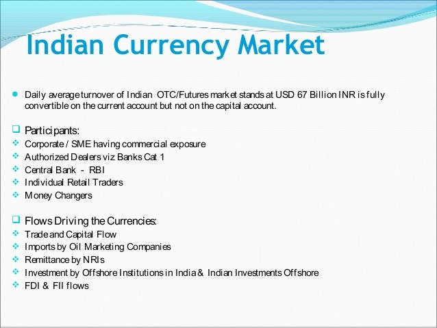 Hedging Exposure to the Indian Rupee | Investing Post